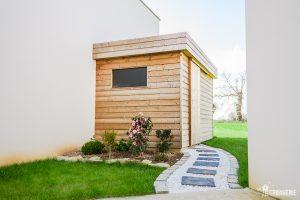 Abris de jardin en bois sur mesure