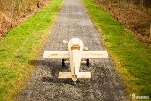 Cabane pour enfants avion en bois prêt à l'envol