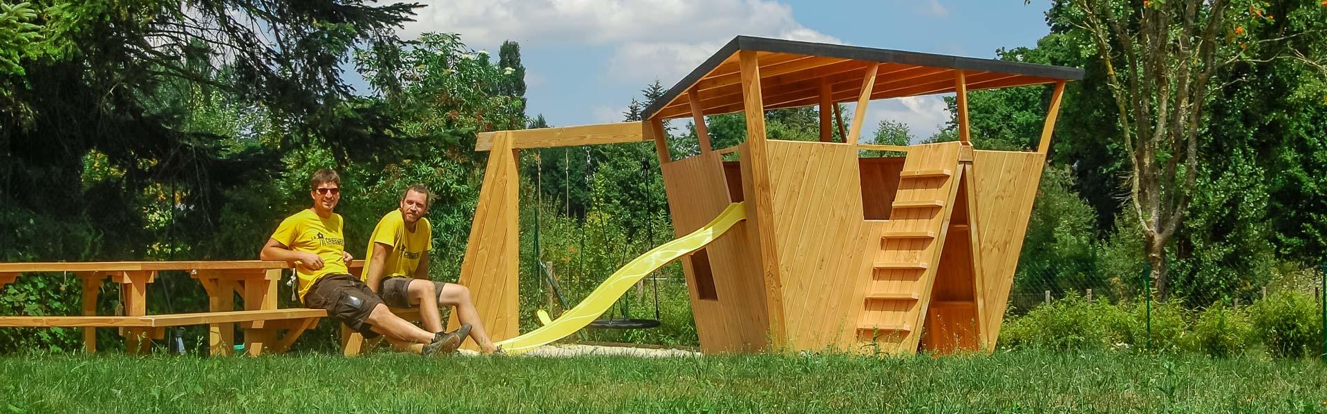 Maison Pour Enfant Exterieur la cabanerie ⋆ structures bois sur mesure
